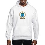 PELLERIN Family Crest Hooded Sweatshirt