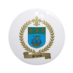 PELLERIN Family Crest Ornament (Round)