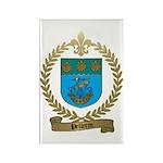 PELLERIN Family Crest Rectangle Magnet