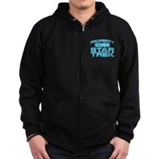 Blue Property Star Trek - TOS Zip Hoody
