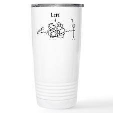 'Funny Life' Travel Mug