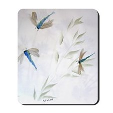 """Dragonfly Dance"" Mousepad"