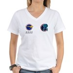Enterprise Captain's Jersey Women's V-Neck T-Shirt