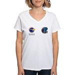 Enterprise Captain's Jersey Women's V-Neck T-Shirt