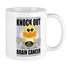 Knock Out Brain Cancer Mug