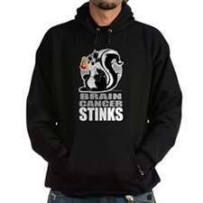 Brain Cancer Stinks Hoodie