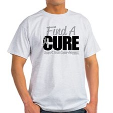 Brain Cancer Find A Cure T-Shirt