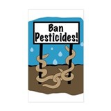 Ban Pesticides Decal