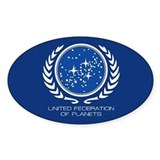 United Federation of Planets Décalcomanies