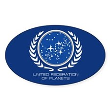 United Federation of Planets Stickers