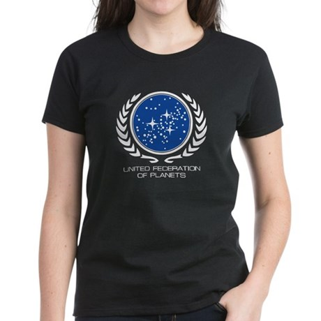United Federation of Planets Women's Dark T-Shirt