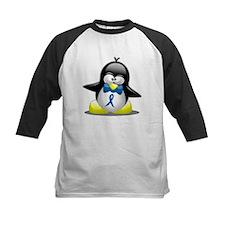 Blue Awareness Ribbon Penguin Tee