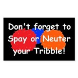 Star Trek Tribbles! Decal