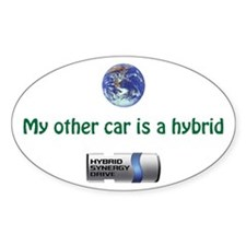 My other car is a hybrid - bumper sticker