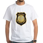 Haverhill Mass Police White T-Shirt