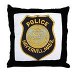 Haverhill Mass Police Throw Pillow