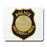 Haverhill Mass Police Mousepad