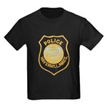 Haverhill Mass Police Kids Dark T-Shirt