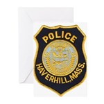 Haverhill Mass Police Greeting Cards (Pk of 20)