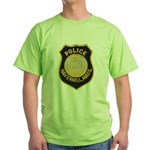 Haverhill Mass Police Green T-Shirt