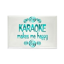 Karaoke Rectangle Magnet