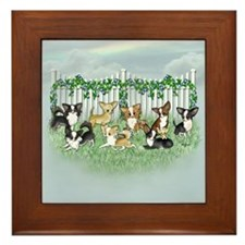 So Many Chihuahuas Framed Tile