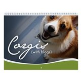 2nd Annual Corgis (with blogs) Wall Calendar