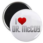 """I Heart Dr. McCoy 2.25"""" Magnet (10 pack)"""