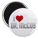 I Heart Dr. McCoy Magnet
