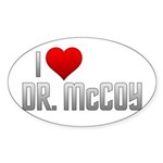 I Heart Dr. McCoy Sticker (Oval 10 pk)