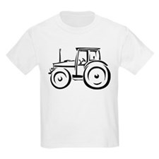 Farm Tractor Kids T-Shirt