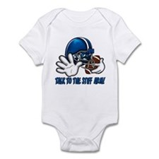 Talk to the Stiff Arm Infant Bodysuit