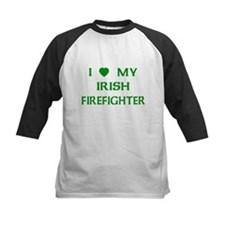 Love My Irish Firefighter Tee