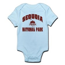 Sequoia Old Style Vermillion Infant Bodysuit