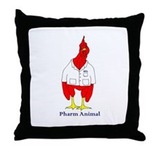 Cute Pharmacist Throw Pillow
