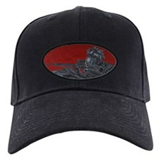 gas mask gunner Baseball Hat