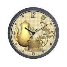 Coffee Break Time Wall Clock