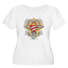 Juvenile Diabetes Cross & Hea T-Shirt