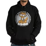 Diabetes Awareness Cat Hoody