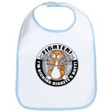 Diabetes Fighter Cat Bib