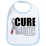 Cure Diabetes Bib