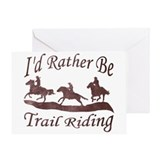 Trail Riders Greeting Card