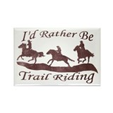 Trail Riders Rectangle Magnet