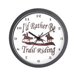Trail Riders Wall Clock