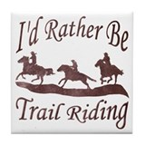 Trail Riders Tile Coaster