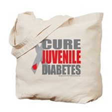 Cure Juvenile Diabetes Tote Bag