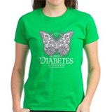 Diabetes Butterfly Tee