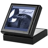 Dressage Musical Freestyle Note Keepsake Box