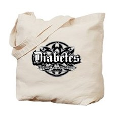 Diabetes Tribal Tote Bag