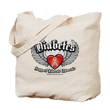 Diabetes Wings Tote Bag